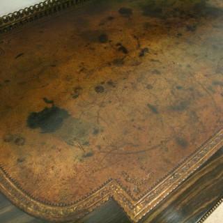 Early Victorian Coromandel Writing Table