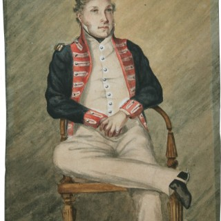 Portrait of A Bengal Artillery Officer