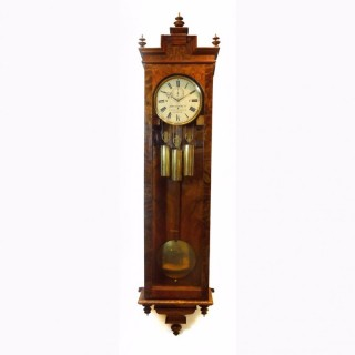 1850s Month-going Sonnerie Vienna Regulator