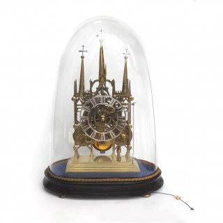Striking fusee Lichfield Skeleton Clock