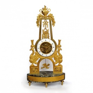 French Empire mantel clock