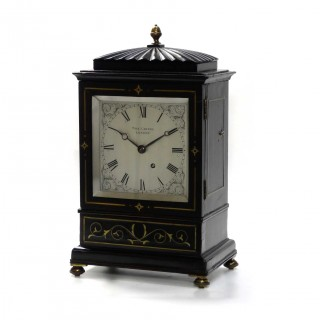 Small Library Clock Timepiece