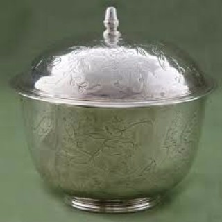 Silver Bowl With Cover