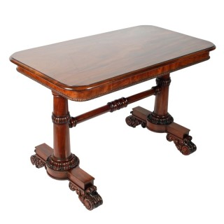 George IV Mahogany Library Table