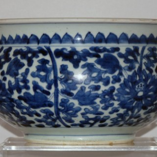 Kangxi Blue and White Porcelain Censer