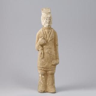 Northern Qi attendant