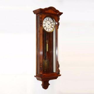 Antique Walnut timepiece Vienna Regulator