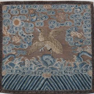 Chinese mandarin rank badge , Mandarin Square