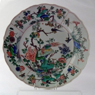 Kangxi famille Verte Large Plate