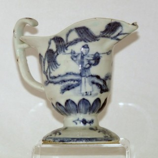 Yongzheng / Qianlong Blue and White Porcelain Helmet Shaped Jug