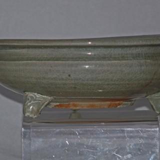 Ming celadon Tripod Censer