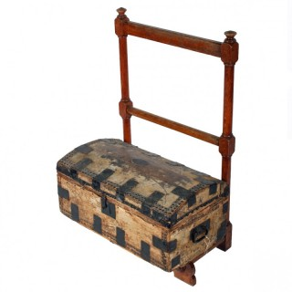 Victorian Oak Luggage/Clothes Stand
