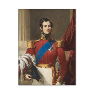 Portrait of Prince Albert of Saxe-Coberg and Gotha, The Prince Consort (1819-1861) dressed in Field-Marshal uniform