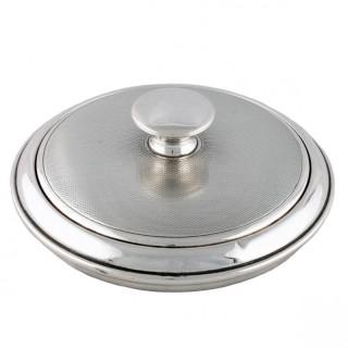 Silver Powder Bowl