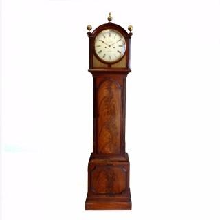 Small Mahogany Longcase Clock by Richard Chater, London