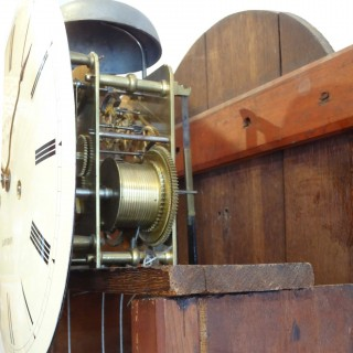 Small Mahogany Longcase Clock by Richard Chater, London