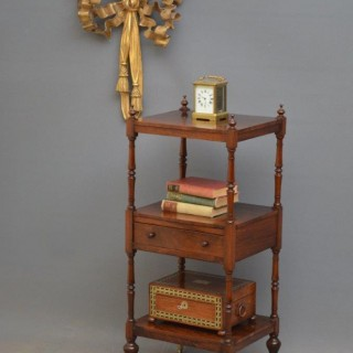 Immaculate George IV Rosewood Etagere