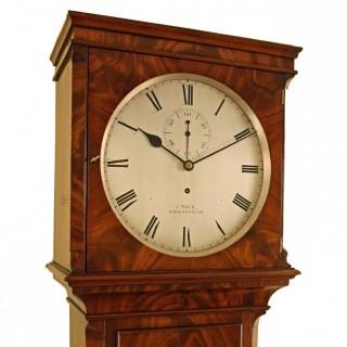 Regulator Longcase Clock by Tuck of Stoke Newington