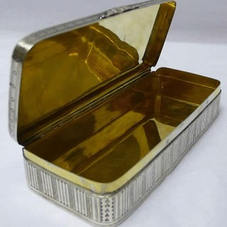 Antique Continental Silver Tobacco Box