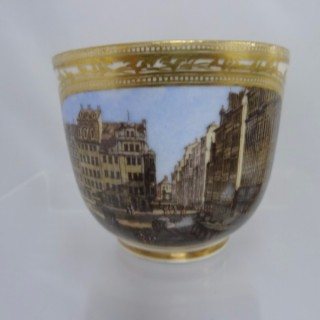 Meissen Academic Period Coffee Cup
