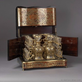 Boulle Style Liqueur Cabinet