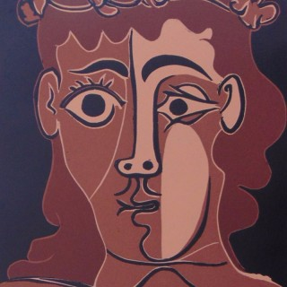 Boy with a Crown of Leaves, 1962