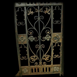 19TH CENTURY WROUGHT IRON GATES