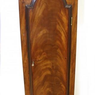 Georgian Mahogany Longcase Clock with Regulator Dial