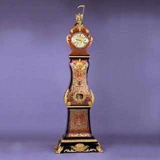 Napoléon III Boulle Marquetry Inlaid Eight-Day Longcase Clock