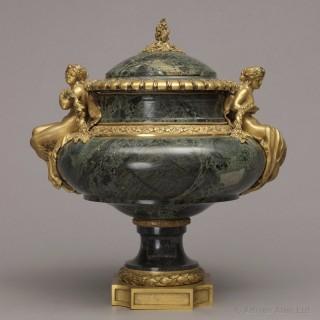 Louis XVI Style Marble Vase