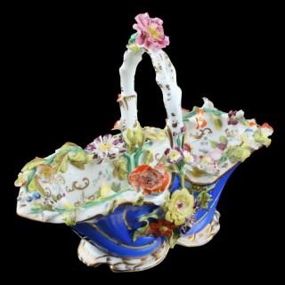 Coalport Coalbrookdale Porcelain Basket