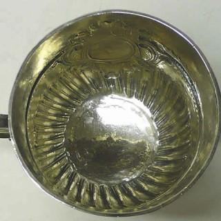 Antique William III Silver Porringer