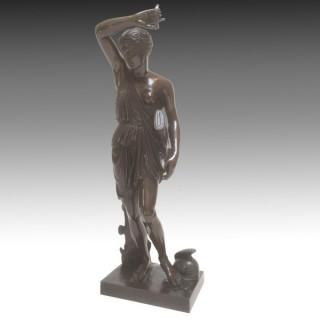 Antique F. Barbedienne Bronze 'Amazone' Late 19th Century
