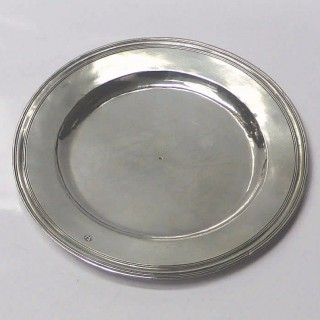 Charles II Silver Alms Dish