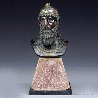 Bronze Bust of a Syrian Nobleman