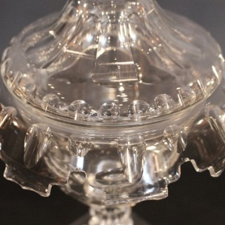 Glass Cup and Cover