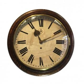 RAF Oak Dial Clock