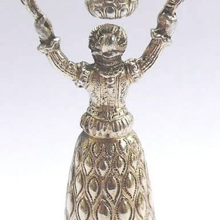 Continental Silver Miniature Wager Cup