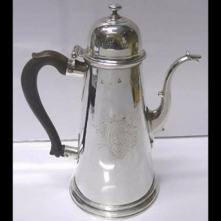 George I Silver Coffee Pot
