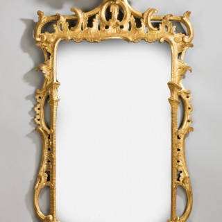 Chippendale Design Pier Mirror