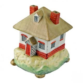 Cottage Shaped Pottery Pastille Burner