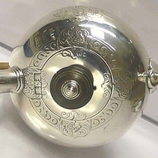 George II Silver Bullet Teapot