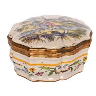 French Samson of Paris Ormolu Box