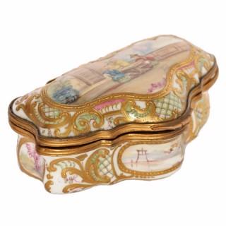 Sévres Style Porcelain Box