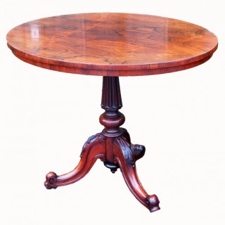 Antique 19th Century Rosewood Centre Table