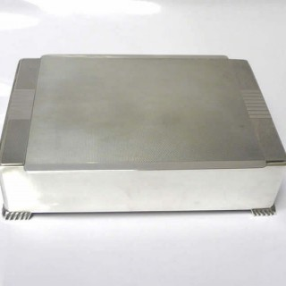 Vintage Silver Cigarette Box by Mappin and Webb