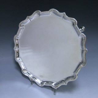 A George II Antique Silver Salver