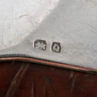 Victorian Crocodile Skin Specatcles Case
