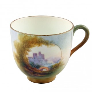 Royal Worcester China Cup & Saucer