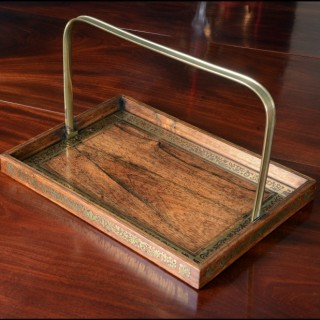 Regency period Rosewood Letter Tray